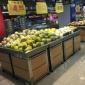 【恒熙�\】工�S直�N蔬果架�木果蔬架超市蔬果堆�^促�N架超市�架