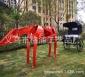 金�亳R和�R�模型雕塑小�^景�^小品�F�工�品雕塑草坪�F�小品