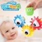新品益智�D�D��蛩�玩具洗澡花��和�玩水水���^��水玩具